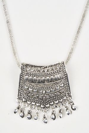 Babicoco Fashion/Antique Jewellery Oxidised/German Silver Necklace Set